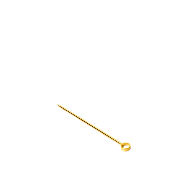 Gold Cocktail Pin