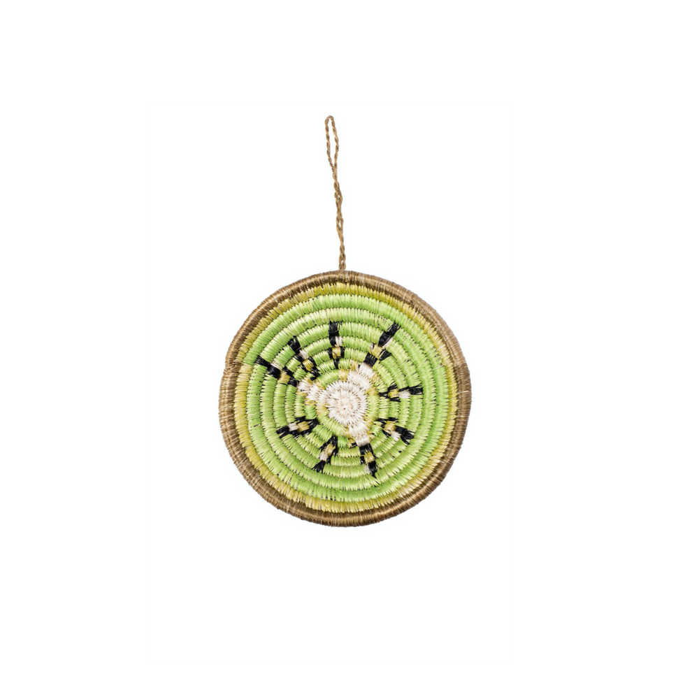Kiwi Basket Ornament