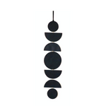 Black Many Moons Wall Hanging