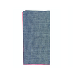 Dobby Chambray Napkins, Set of 4