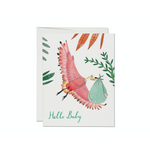 Bird Hello Baby Card