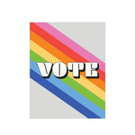 VOTE Rainbow Card