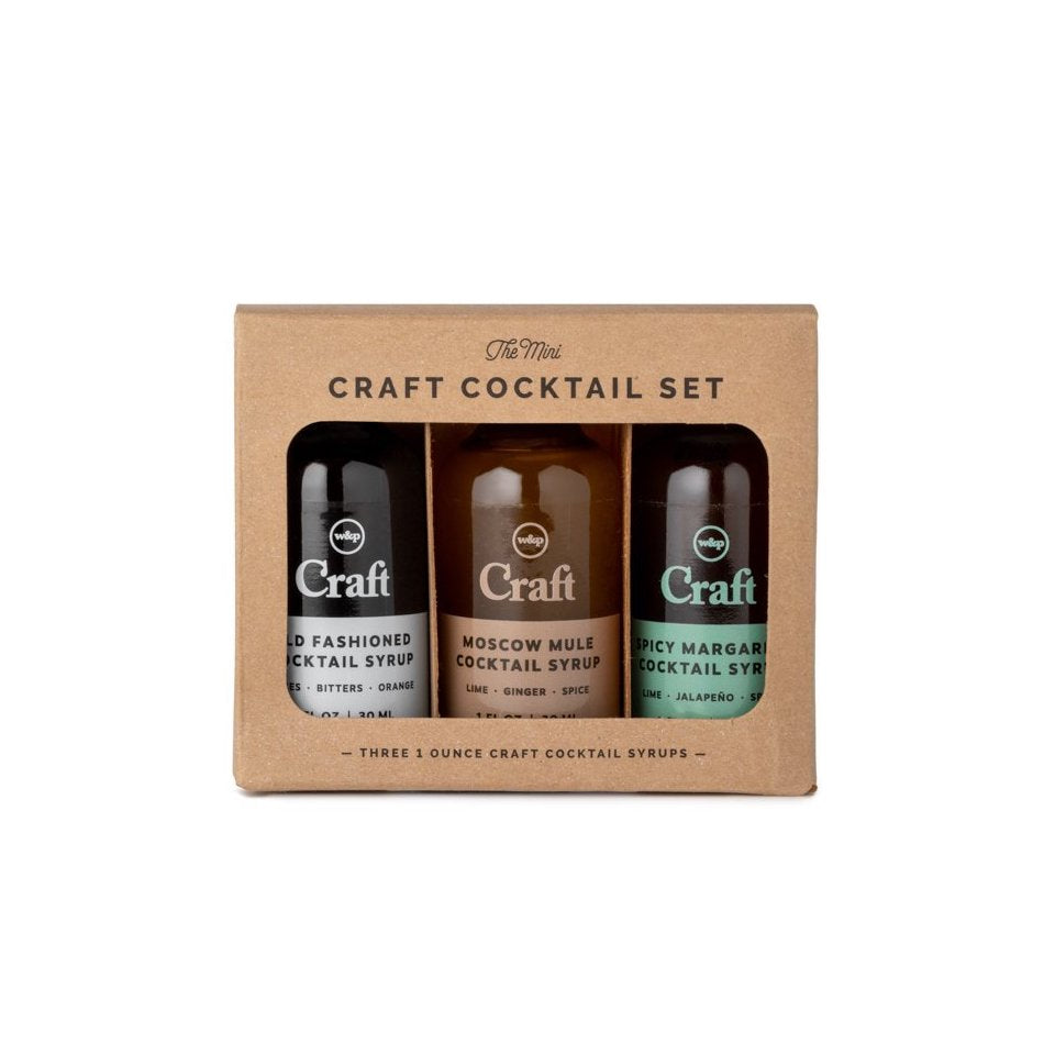 Mini Cocktail Syrup Set