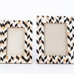 Black + Brown Artemis Picture Frame