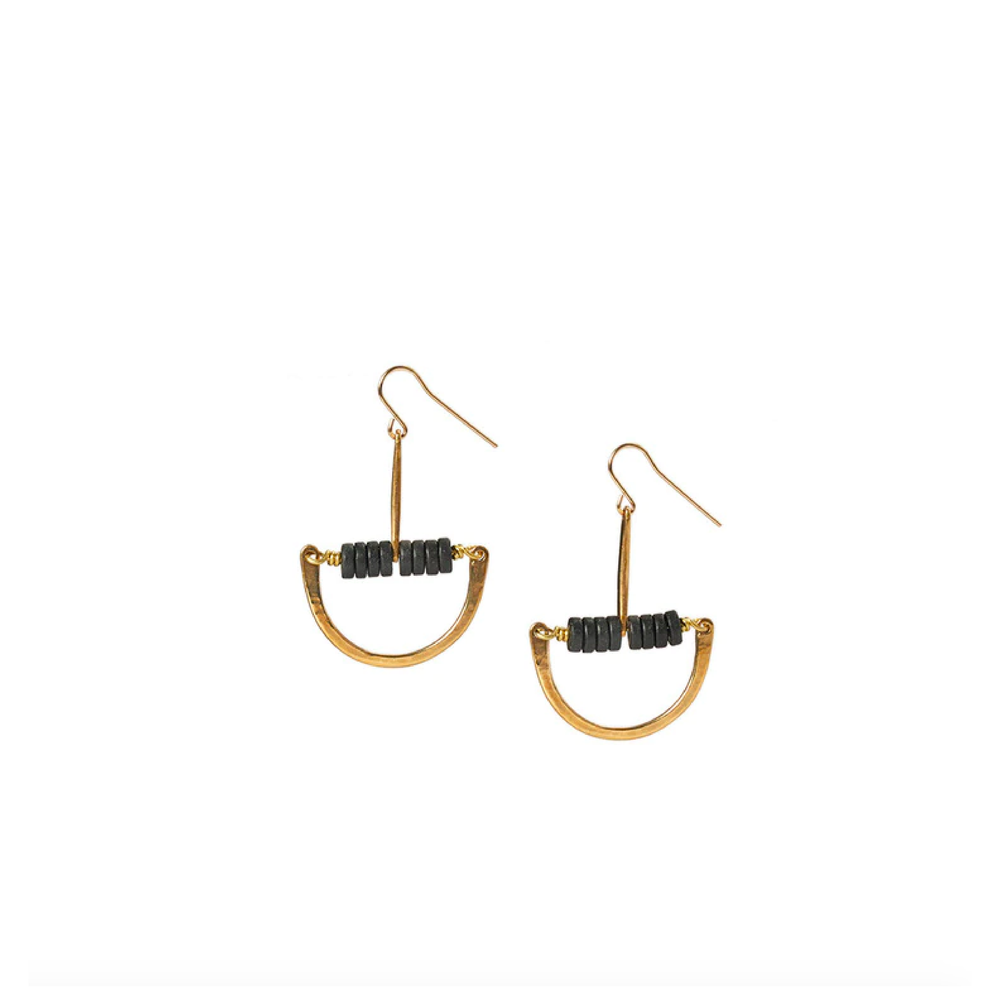 Black Maud Earrings