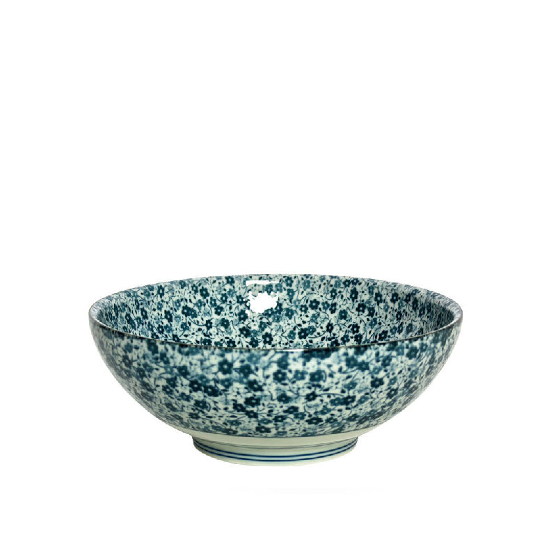 Blue Flowers Bowl