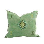 Bib Cactus Silk Pillow