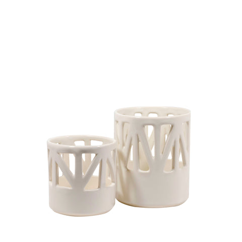 Structured Candle Holder