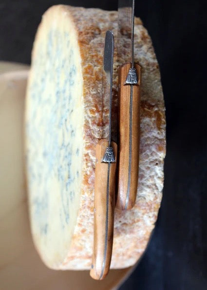 Laguiole Olivewood Cheese Knife Set