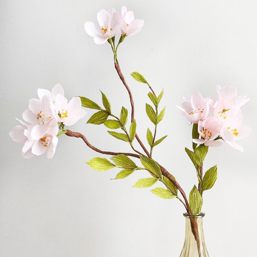 Crepe Paper Cherry Blossom Bunch