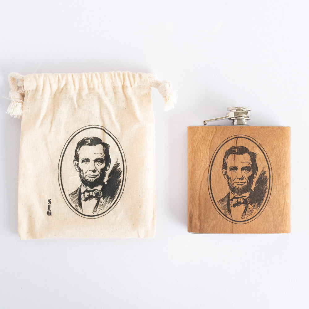 Abe Lincoln Flask