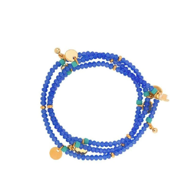Eliza Bracelet in Blue Jay