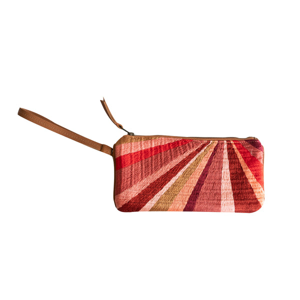 Ines Embroidered Clutch