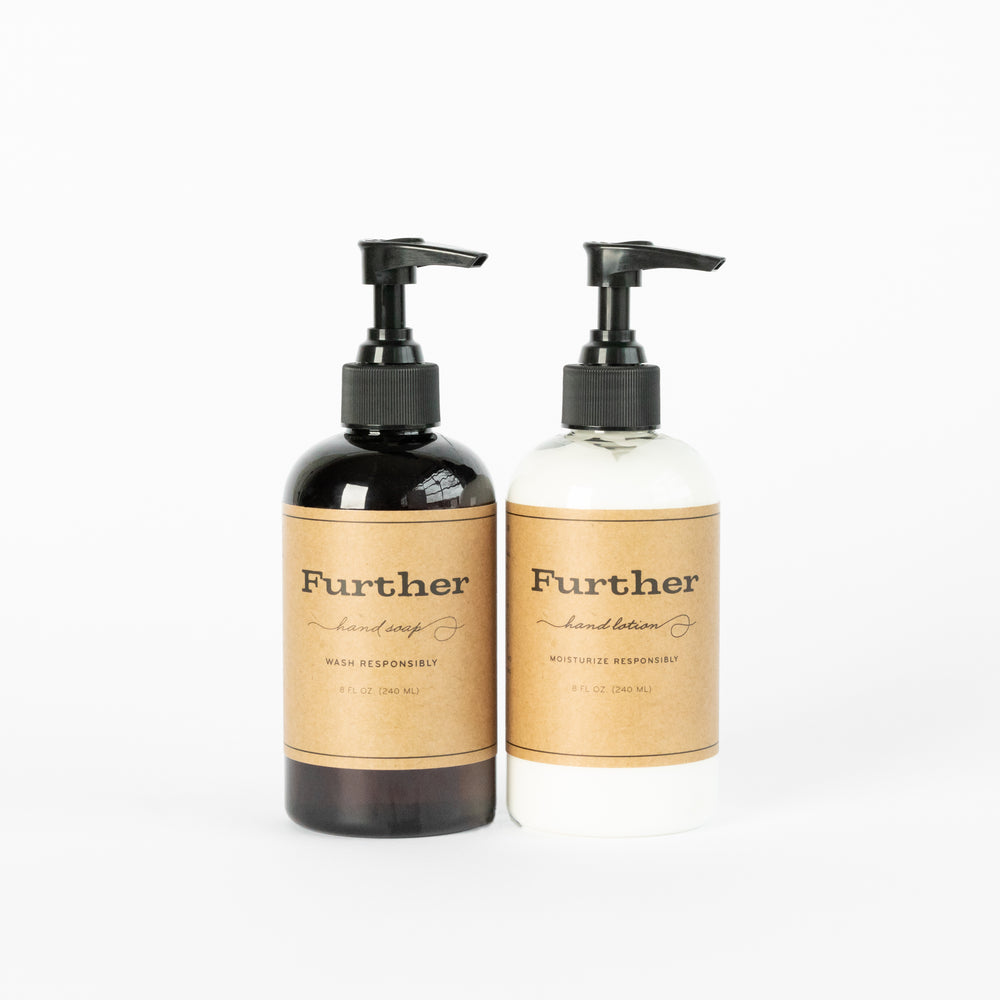 Further Hand Soap + Lotion