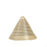 Sun Kissed Large Huye Cone Pendant Light