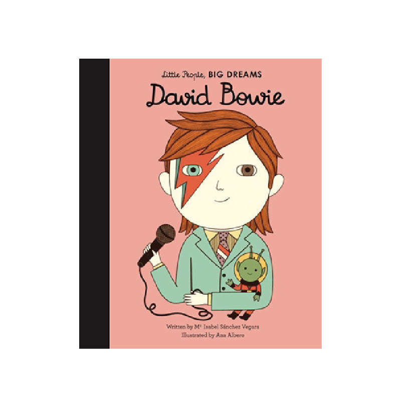 David Bowie Book: Little People BIG DREAMS
