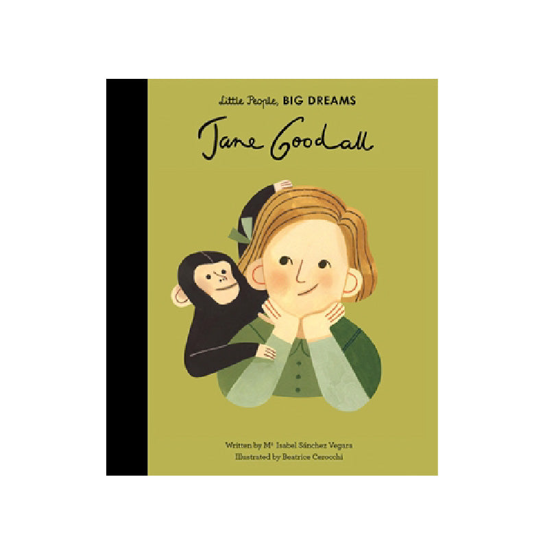 Jane Goodall Book: Little People BIG DREAMS