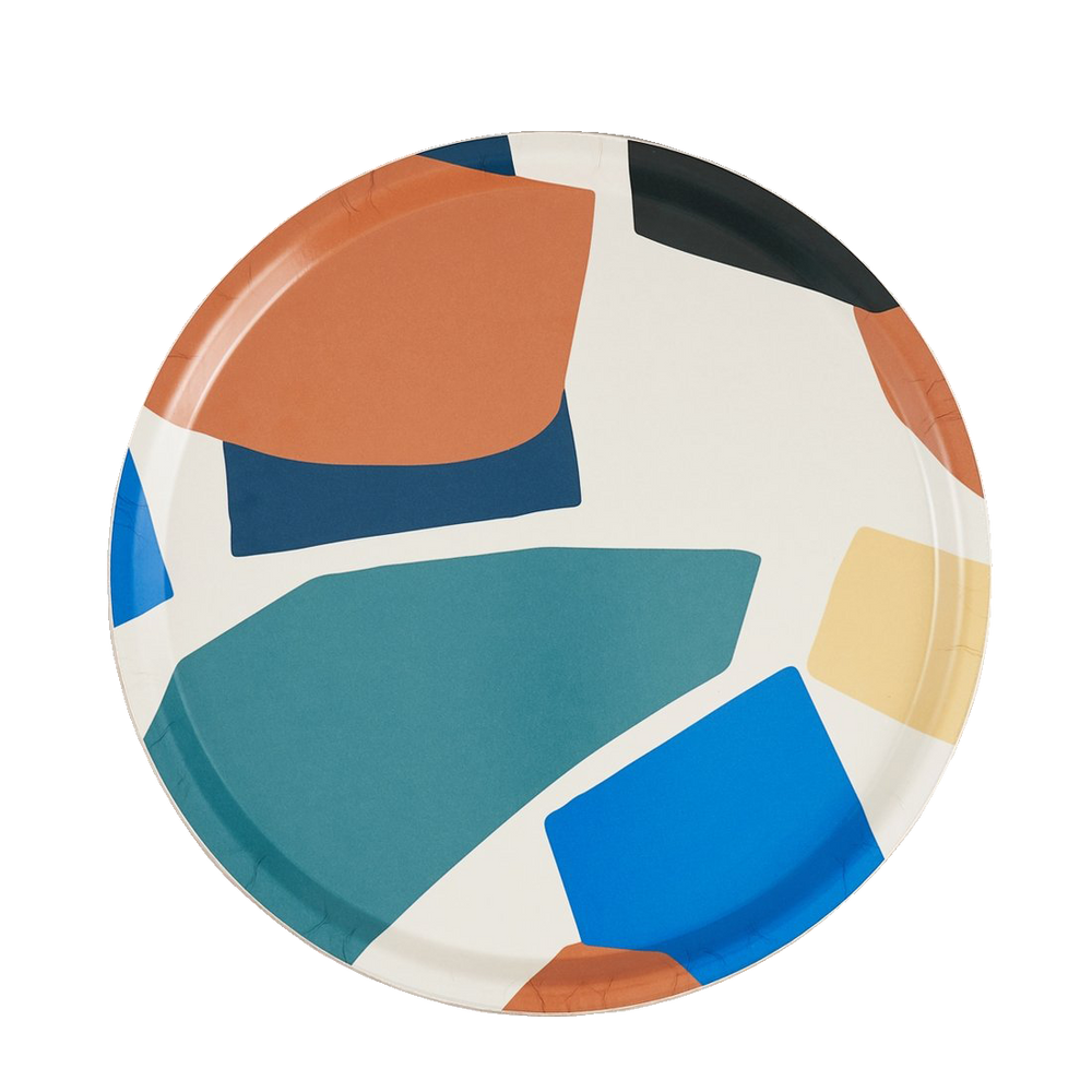 Round Mosaique Tray