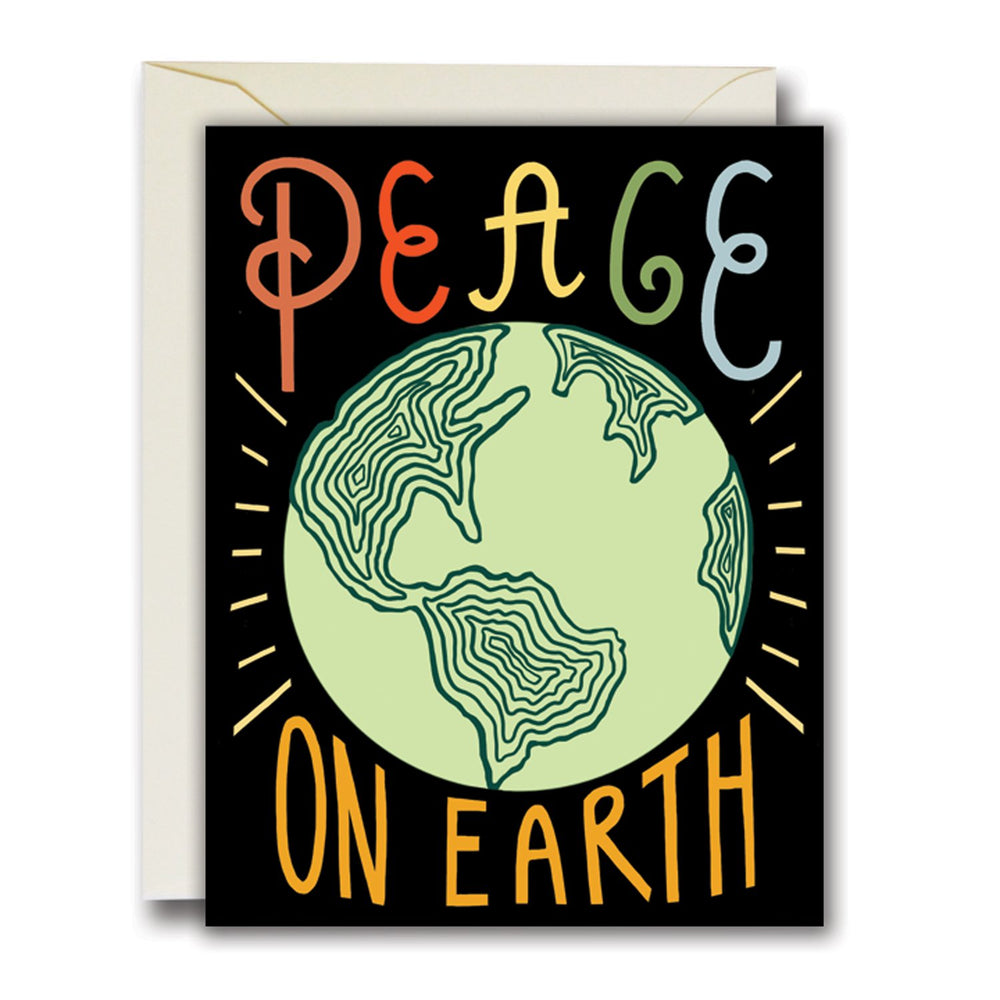 Peace on Earth Card, Set of 8