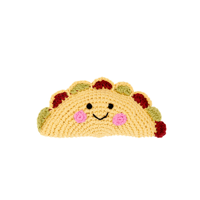 Smiling Taco Rattle