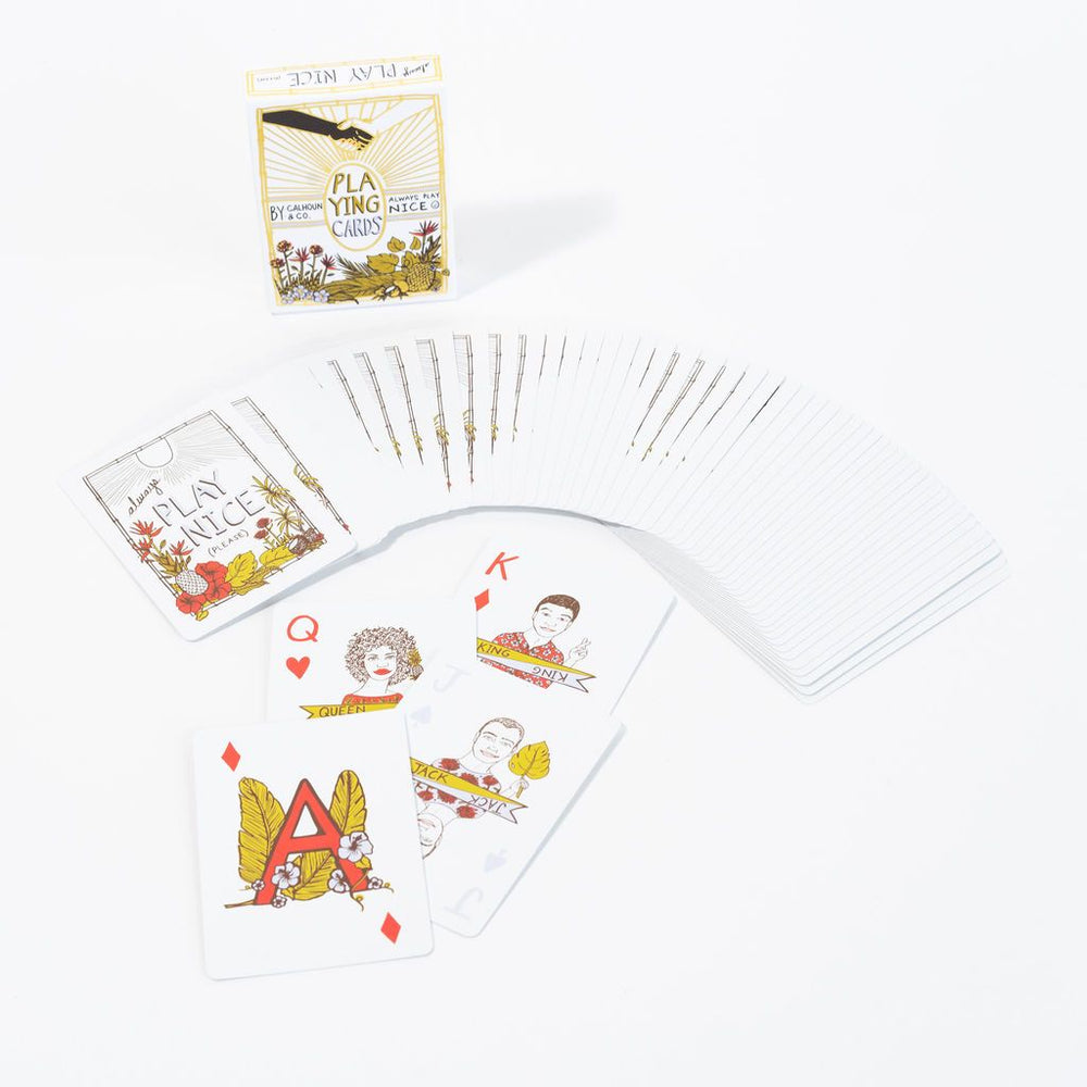 Play Nice Playing Cards