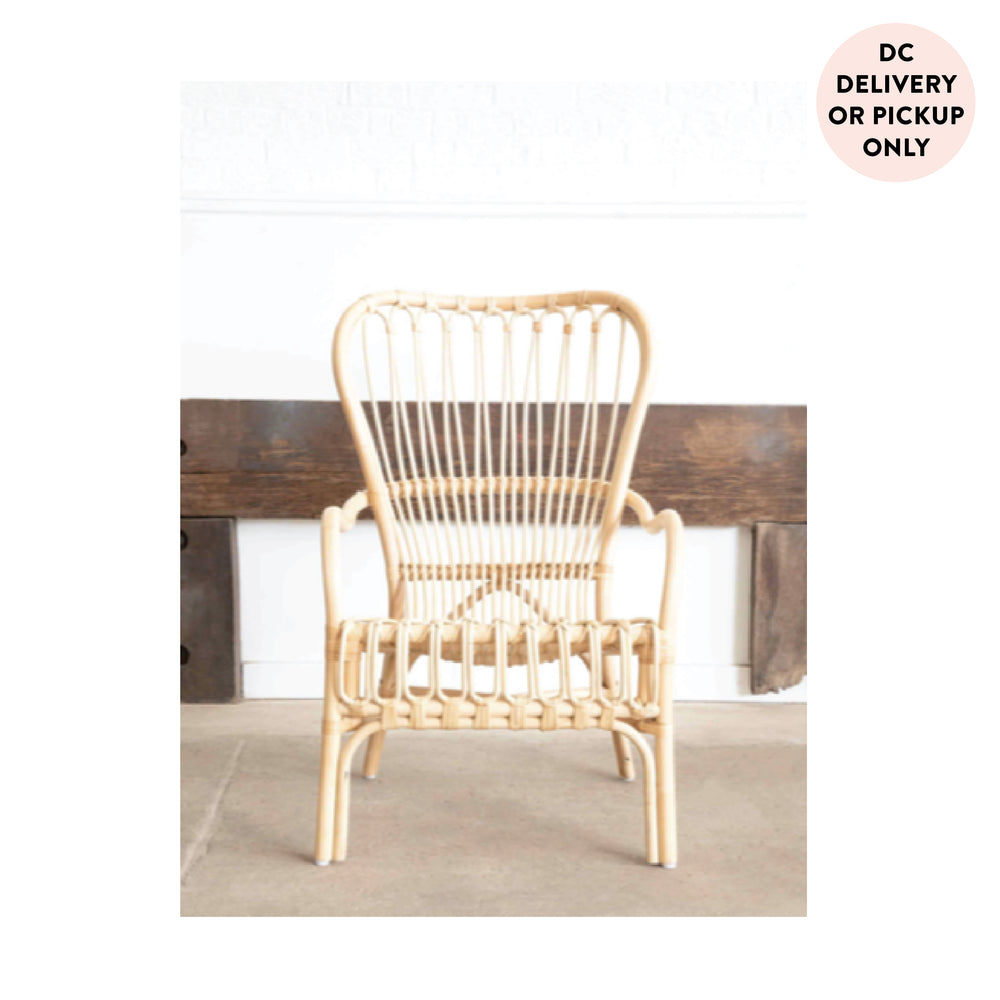Natural Rattan Arm Chair
