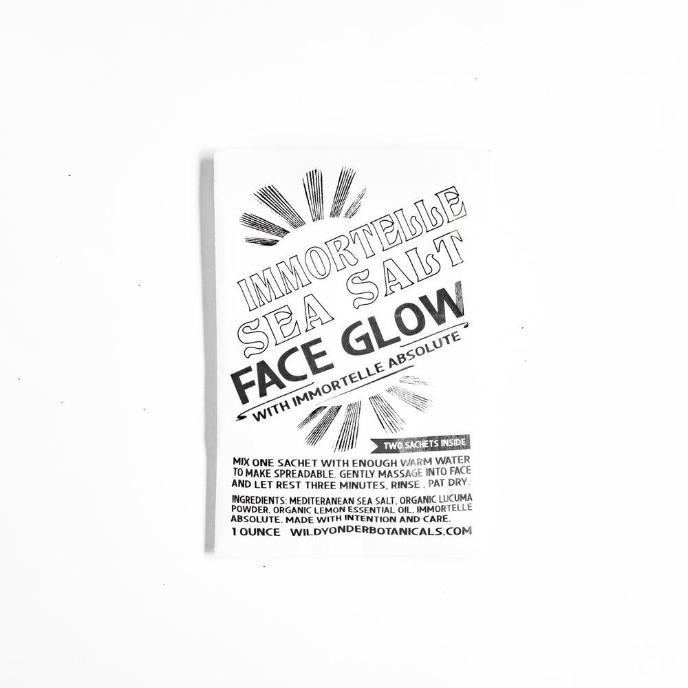 Sea Salt Face Glow Mask