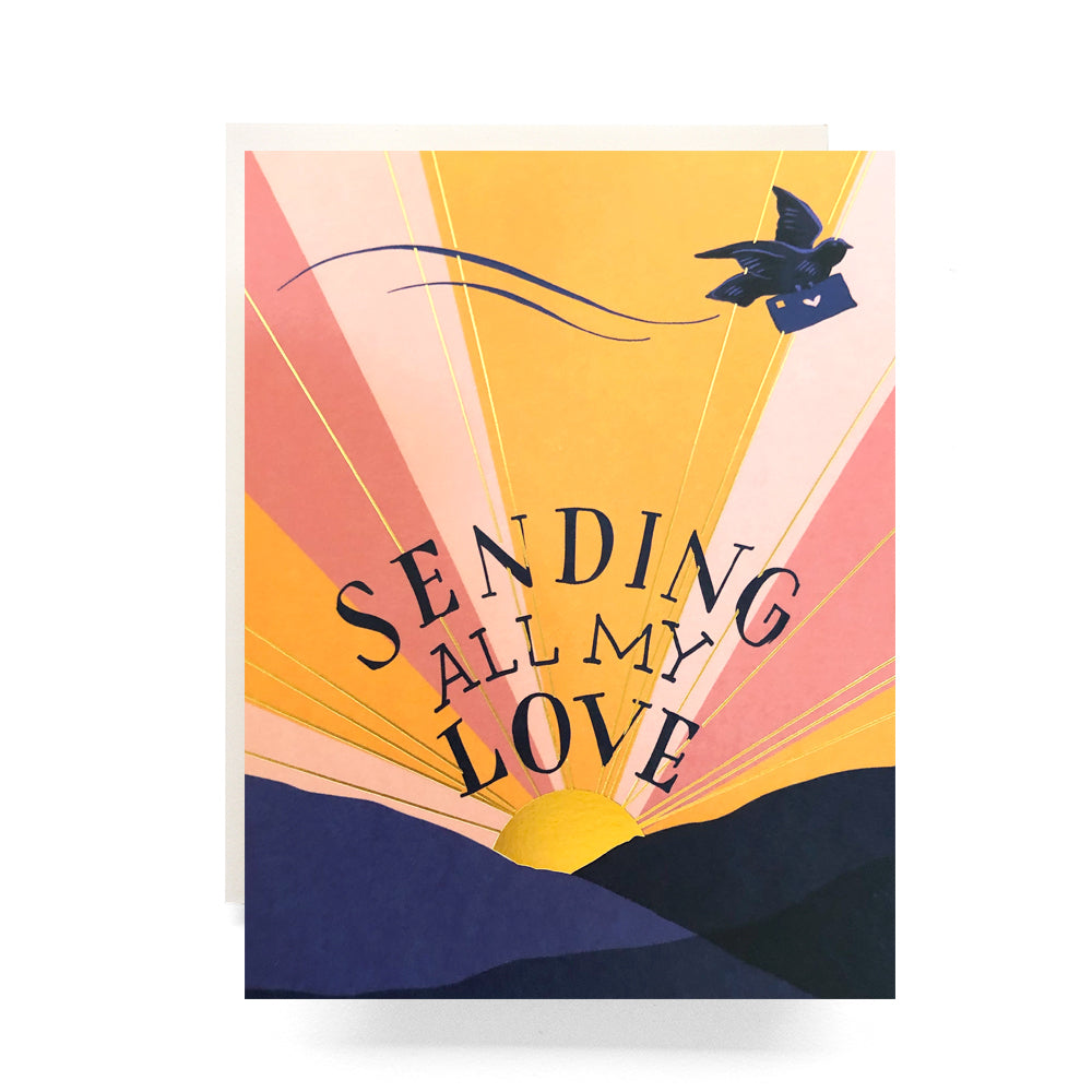 Sending All My Love Card