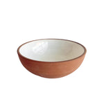 Red Stone Soup Bowl