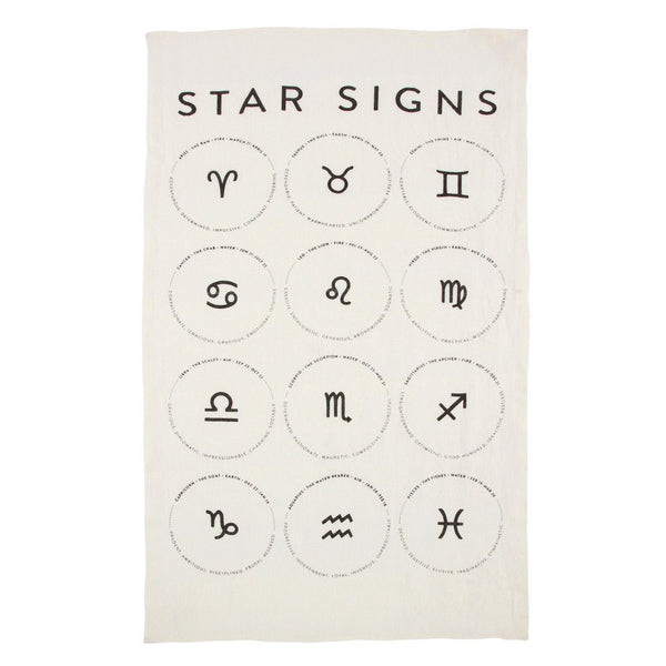 Star Signs Kitchen Towel