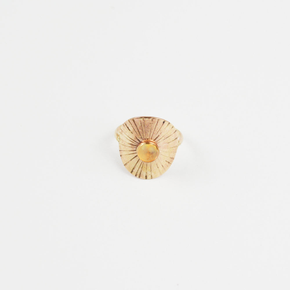Sunbeam Ring Citrine
