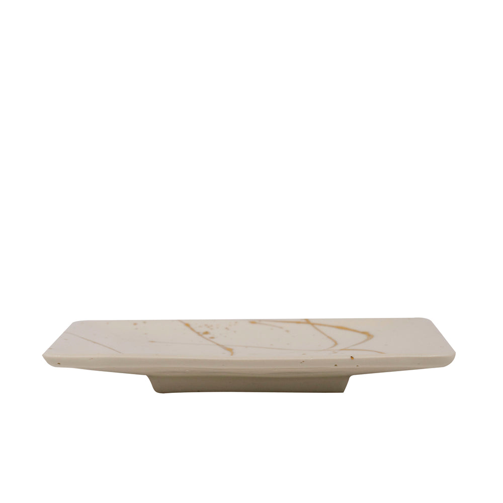 Tray with Gold Luster