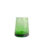 Green Moroccan Glass, Set of 6