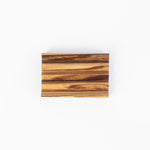Zebra Wood Soap Dish