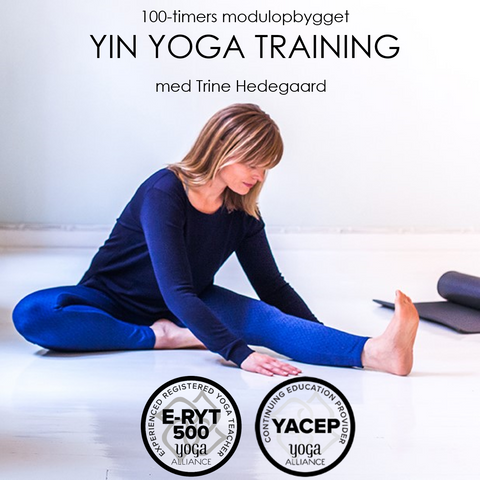 40-TIMERS YIN YOGA TRAINING VOL. 1, D. 13.-17. I VEJLE NOVEMBER DEPOSITUM