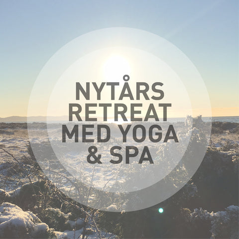 Yoga & Spa Nytårsretreat i Skåne d. 25.-27. januar, 2019 for 2 pers. i db.værelse