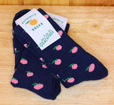 ATL PEACHY SOCKS - Pinky Peach (100% COTTON)