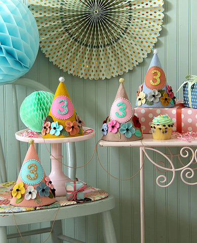 Prettiest Party Hats Sewing Kit