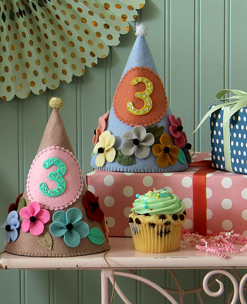 Prettiest Party Hats Sewing Pattern