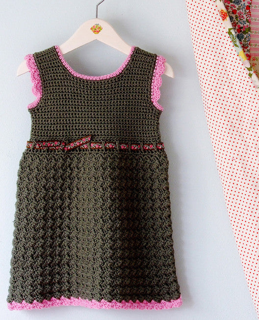 Bella Baby Dress Crochet Pattern Posie Patterns And Kits To