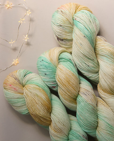 Hand-Dyed Yarn Skein: Carousel