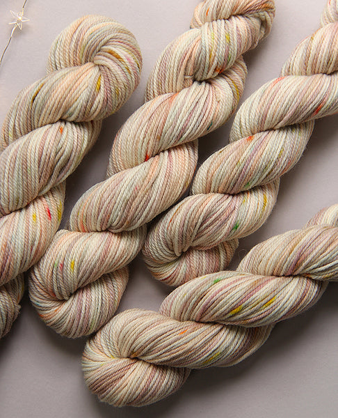 Hand-Dyed Small Yarn Skein: Cloud Cover