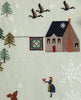 First Snow Cross Stitch Sampler Pattern
