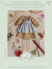 Peasant Dress, Pinafore, and Stockings Sewing Pattern