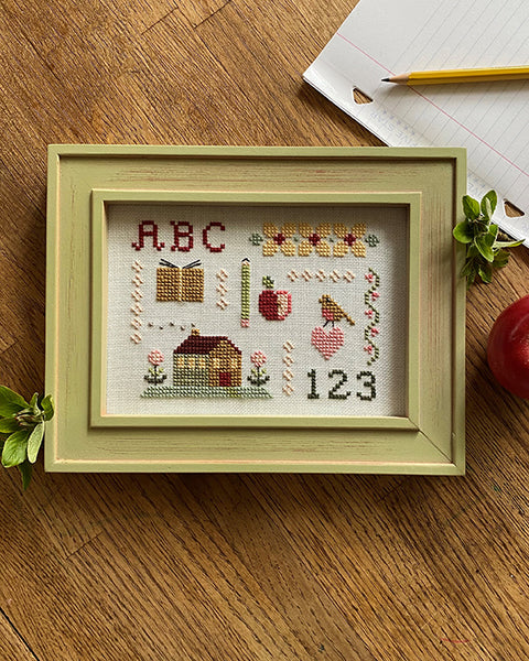 Homeschool Sampler Cross Stitch Pattern