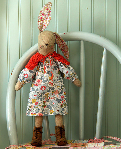 Miss Maggie Rabbit Softie Sewing Pattern