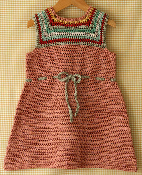 Mina Baby and Toddler Dress Crochet Pattern