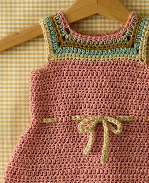 Crochet Patterns Kits : Baby and Toddler Dress Crochet Pattern - Posie: Patterns and Kits ...