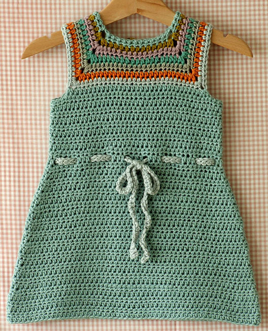 Mina Baby And Toddler Dress Crochet Pattern Posie Patterns And