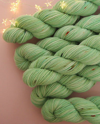 Hand-Dyed Small Yarn Skein: Mineral